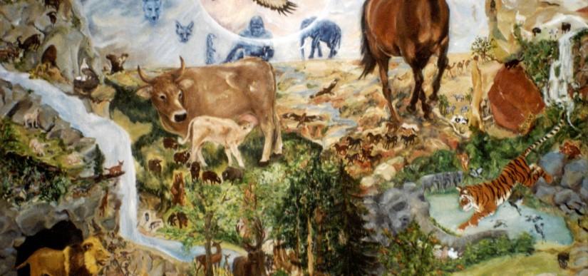 Tiere und die Elemente- Feuer- Erde- Wasser- Luft 2003/04