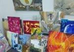 ART- Bazaar with House- Fleamarket