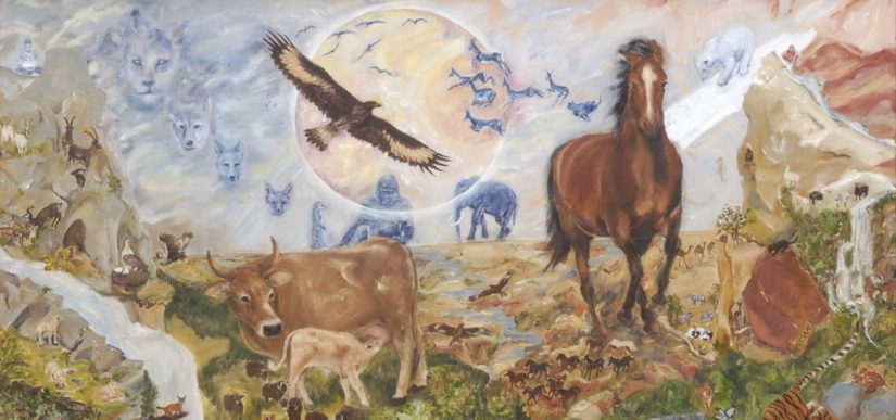Tiere und die Elemente 'Feuer- Erde- Wasser- Luft' 2003/04